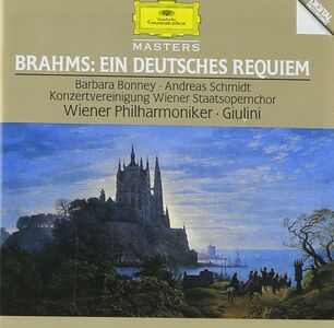 CD Un Requiem tedesco (Ein Deutsches Requiem) di Johannes Brahms
