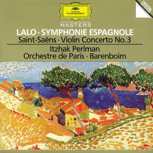 CD Sinfonia spagnola / Concerto per violino Camille Saint-Saëns , Edouard Lalo