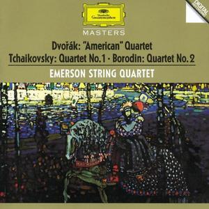 CD Quartetti per archi Antonin Dvorak , Pyotr Il'yich Tchaikovsky , Alexander Porfirevic Borodin