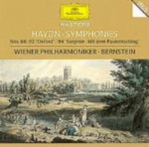 Foto Cover di Sinfonie n.88, n.92, n.94, CD di AA.VV prodotto da Deutsche Grammophon