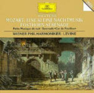 Eine Kleine Nachtmusik K525 - Posthorn Serenata - CD Audio di Wolfgang Amadeus Mozart,James Levine,Wiener Philharmoniker