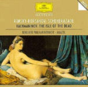 CD Sheherazade / L'isola dei morti Sergei Vasilevich Rachmaninov , Nikolai Rimsky-Korsakov