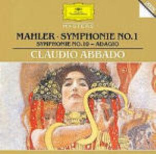 CD Sinfonie n.1, n.10 (Adagio) di Gustav Mahler