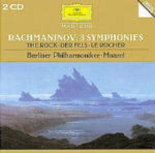 Foto Cover di Sinfonie n.1, n.2, n.3, CD di AA.VV prodotto da Deutsche Grammophon