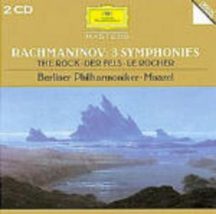 CD Sinfonie n.1, n.2, n.3 di Sergei Vasilevich Rachmaninov