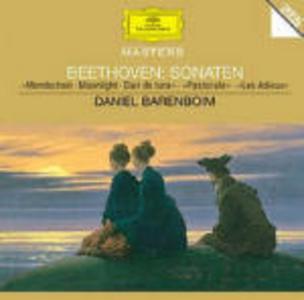 CD Sonate per pianoforte n.13, n.14, n.15, n.26 di Ludwig van Beethoven