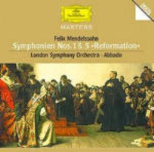 Foto Cover di Sinfonie n.1, n.5, CD di AA.VV prodotto da Deutsche Grammophon