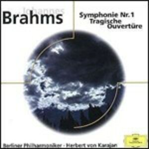 CD Sinfonia n.1 - Ouverture tragica di Johannes Brahms