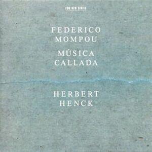 CD Musica Callada di Frederic Mompou