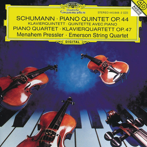 CD Quintetto con pianoforte op.44 - Quartetto op.47 di Robert Schumann