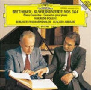 CD Concerti per pianoforte n.3, n.4 di Ludwig van Beethoven