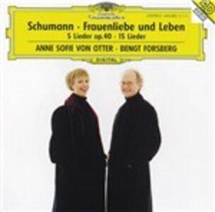CD Frauenliebe und Leben - 5 Lieder op.40 - Ausgewählte Lieder di Robert Schumann