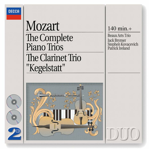 CD Trii con pianoforte di Wolfgang Amadeus Mozart