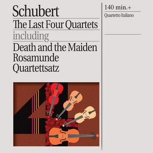 CD Quartetti per archi D810, D804, D703, D887 di Franz Schubert