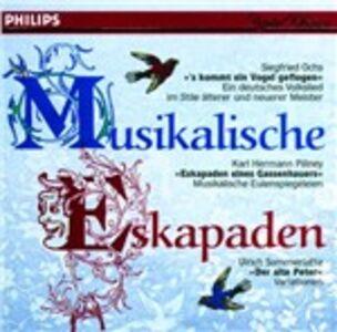 Foto Cover di Musikalische Eskapaden, CD di Peter Falk, prodotto da Philips