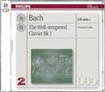 Foto Cover di Il clavicembalo ben temperato vol.1 (Das Wohltemperierte Clavier teil 1), CD di Johann Sebastian Bach,Friedrich Gulda, prodotto da Philips
