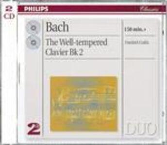 CD Il clavicembalo ben temperato vol.2 (Das Wohltemperierte Clavier teil 2) di Johann Sebastian Bach