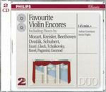 CD Favourite Violin Encores