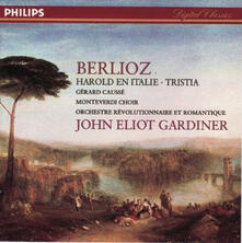 Aroldo in Italia - Tristia - CD Audio di Hector Berlioz,John Eliot Gardiner,Orchestre Révolutionnaire et Romantique