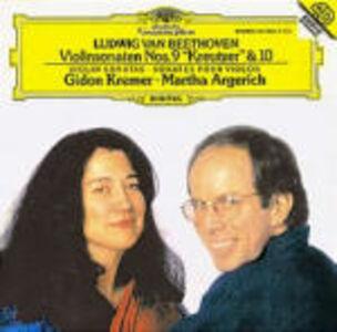 CD Sonate per violino e pianoforte n.9, n.10 di Ludwig van Beethoven
