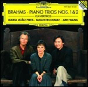 Trii con pianoforte n.1, n.2 - CD Audio di Johannes Brahms,Augustin Dumay,Maria Joao Pires,Jian Wang
