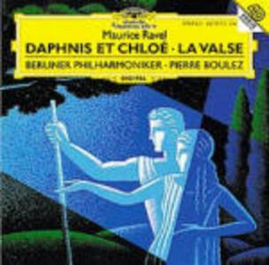 Daphnis et Chloé - La valse - CD Audio di Pierre Boulez,Maurice Ravel,Berliner Philharmoniker