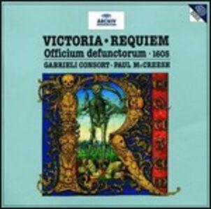 CD Requiem di Tomas Luis De Victoria