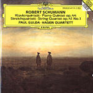 CD Quintetto con pianoforte op. 44 - Quartetto op.41 di Robert Schumann