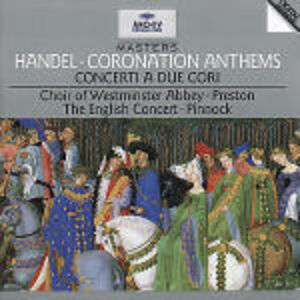 CD Coronation Anthems di Georg Friedrich Händel