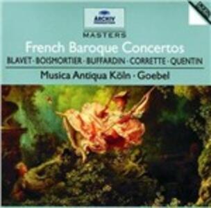 French Baroque Concertos - CD Audio di Reinhard Goebel,Musica Antiqua Köln