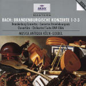 CD Concerti brandeburghesi n.1, n.2, n.3 - Suite per orchestra BWV1066 di Johann Sebastian Bach