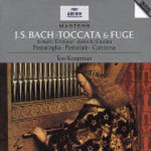 CD Toccata e fuga - Passacaglia - Pastorale - Canzona di Johann Sebastian Bach