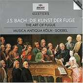 CD L'arte della fuga (Die Kunst der Fugue) Johann Sebastian Bach Reinhard Goebel Musica Antiqua Köln