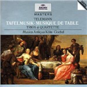 Tafelmusik - CD Audio di Georg Philipp Telemann,Reinhard Goebel,Musica Antiqua Köln