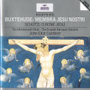 CD Membra Jesu Nostri / O Bone Jesu Dietrich Buxtehude , Heinrich Schütz