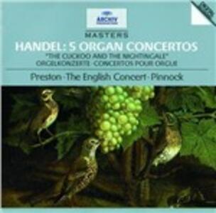 Concerti per organo HWV290, HWV295, HWV308, HWV309, HWV310 - CD Audio di Georg Friedrich Händel,Simon Preston