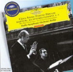 Concerti per pianoforte n.1, n.2, n.3 - CD Audio di Ferenc Fricsay,Bela Bartok,Géza Anda,RIAS Orchestra