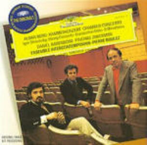 CD Concerto da camera / Concerto di Alban Berg