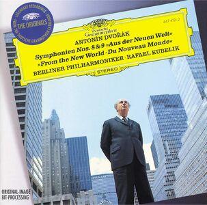 Foto Cover di Sinfonie n.8, n.9, CD di AA.VV prodotto da Deutsche Grammophon