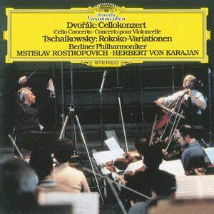 CD Concerto per violoncello / Variazioni Rococò Antonin Dvorak , Pyotr Il'yich Tchaikovsky