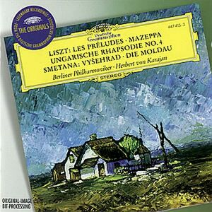 CD Les Préludes / La Moldava (Die Moldau) Franz Liszt , Bedrich Smetana