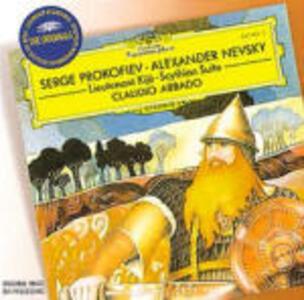 Scythian Suite - Alexander Nevsky - Il luogotenente Kijé - CD Audio di Sergej Sergeevic Prokofiev,Claudio Abbado,Chicago Symphony Orchestra,London Symphony Orchestra,Elena Obraztsova