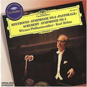 Sinfonia n.6 / Sinfonia n.5 - CD Audio di Ludwig van Beethoven,Franz Schubert,Karl Böhm,Wiener Philharmoniker