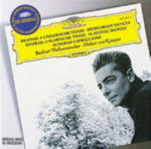 CD Danze ungheresi / Danze slave - Scherzo Capriccioso Johannes Brahms , Antonin Dvorak