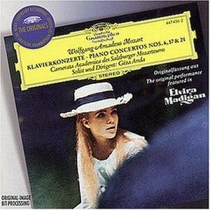 CD Concerti per pianoforte n.6, n.17, n.21 di Wolfgang Amadeus Mozart