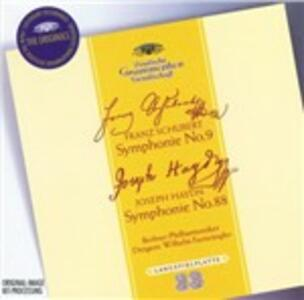 Sinfonia n.9 - Sinfonia n.88 - CD Audio di Franz Joseph Haydn,Franz Schubert,Berliner Philharmoniker