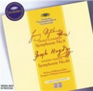 CD Sinfonia n.9 - Sinfonia n.88 Franz Joseph Haydn , Franz Schubert