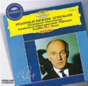CD Concerto per pianoforte - Toccata op.7 - Novellette op.21 n.1 di Robert Schumann