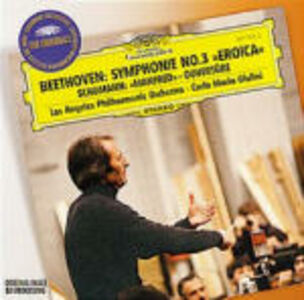 CD Sinfonia n.3 / Ouverture Manfred Ludwig van Beethoven , Robert Schumann