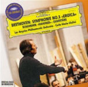 CD Sinfonia n.3 / Ouverture Manfred Ludwig van Beethoven , Robert Schumann